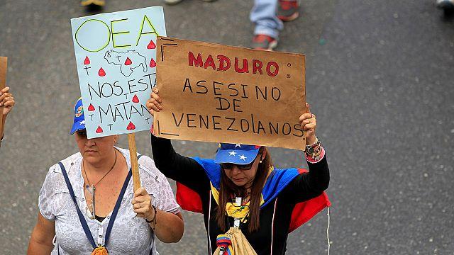 Venezuela meclis başkanı AB'den destek istedi