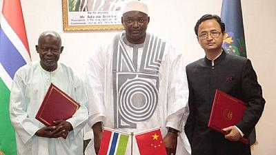 China waives taxes on Gambian exports, offers 150 scholarships