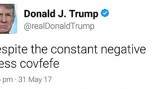 """Trump colpisce ancora: il nuovo tormentone è """"covfefe"""""""