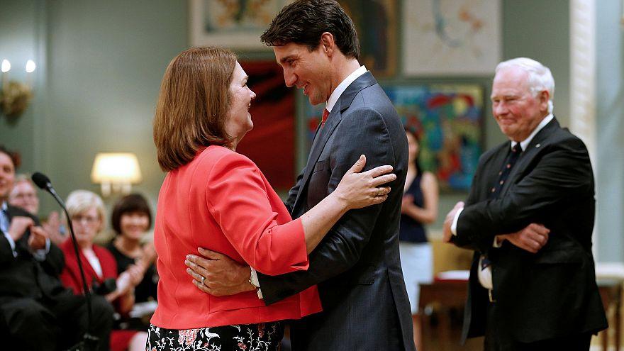 Image: Jane Philpott and Canadian Prime Minister Justin Trudeau