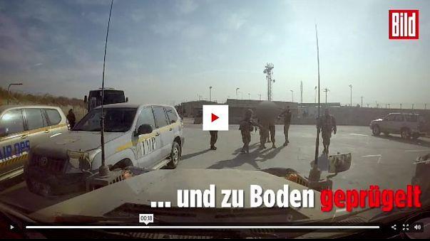Afganistan: Alman askerleri silah zoruyla yere yatırılarak dövüldü