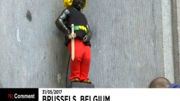 Asterix revient chez les Belges