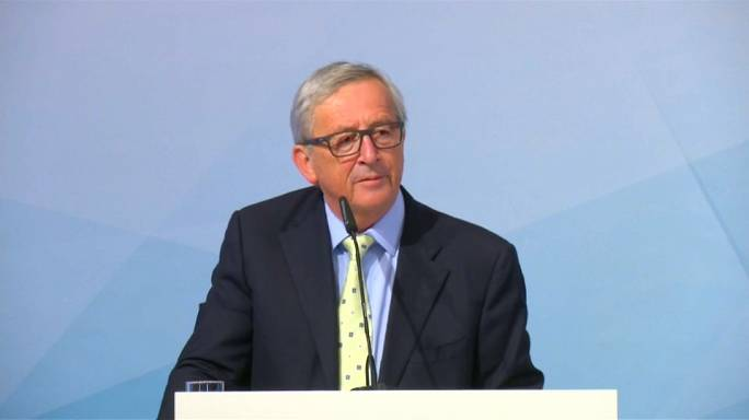 """Accordi sul clima, Juncker:""""Europa non è al servizio degli USA"""""""