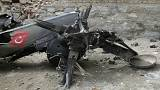 В Турции разбился военный вертолет - 13 военнослужащих погибли