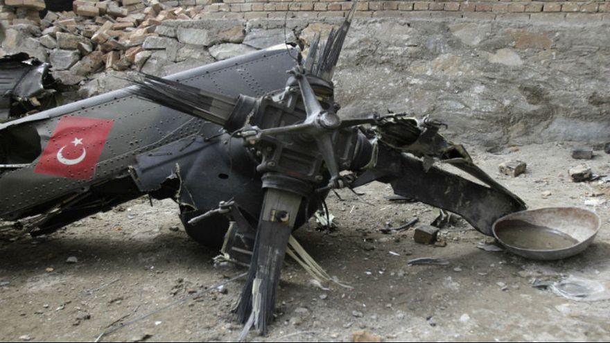 Turkish military helicopter crash kills 13 soldiers