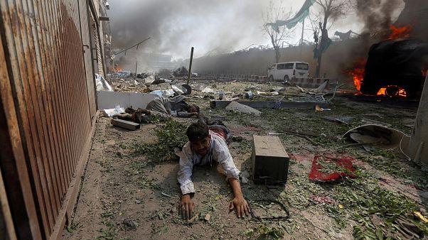 Kabul diplomatanegyedében robbantottak