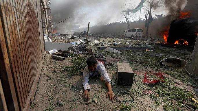 Merkel verurteilt Anschlag in Kabul