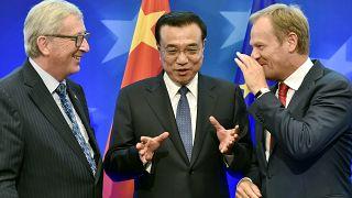 Climat, économie et sécurité au sommet UE-Chine