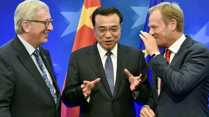 Al via a Bruxelles il vertice UE-Cina