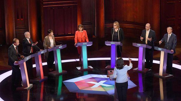 مناظره تلویزیونی برای انتخابات بریتانیا بدون حضور نخست وزیر انجام شد