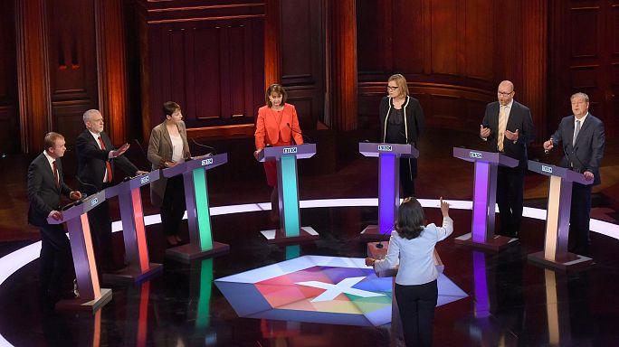Theresa May, fustigada por su ausencia en el debate electoral
