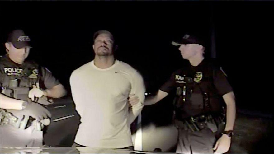 O vídeo da detenção de Tiger Woods