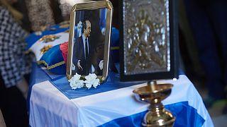 """Κρήτη: Το """"τελευταίο αντίο"""" στον Κωνσταντίνο Μητσοτάκη"""