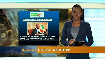 Revoir la revue de presse du 01-06-2017 [The Morning Call]