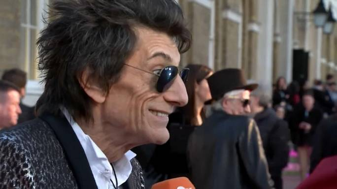 Stones-Gitarrist Ronnie Wood feiert seinen 70.