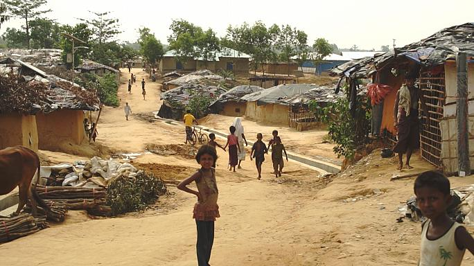 بالفيديو: معاناة أقلية الروهينغا المسلمة في مخيمات بنغلاديش