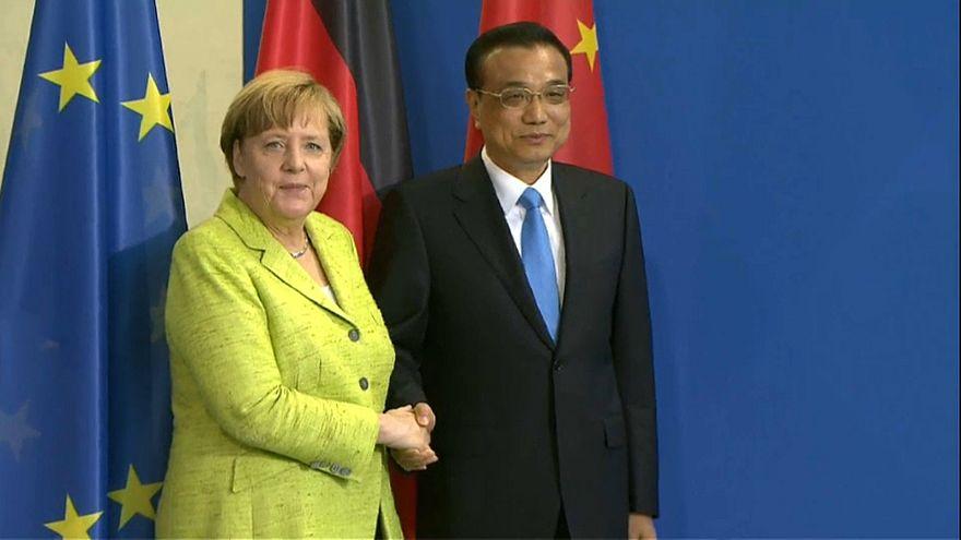 Klima und Handel: Berlin und Peking demonstrieren Geschlossenheit