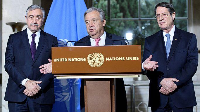Kıbrıs: Müzakerelerde Guterres umudu