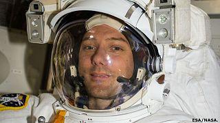 Visszatért a Földre az űrből fotózó űrhajós