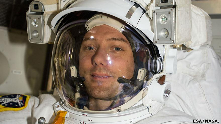 Return to earth for France's astronaut photographer