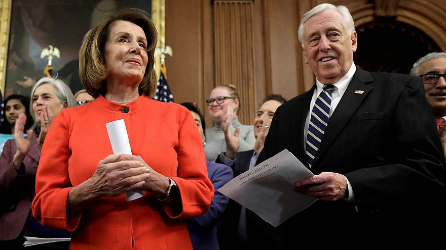 Image: House Speaker Nancy Pelosi attends House Democrats news conference o