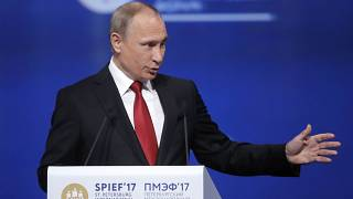 Putin put on the spot over Russia and Trump