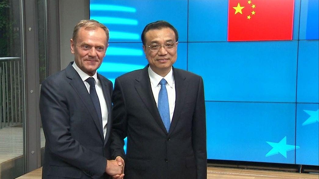 AB ile Çin yakınlaşıyor mu ?