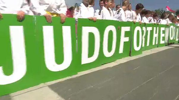 Les judokas investissent Budapest