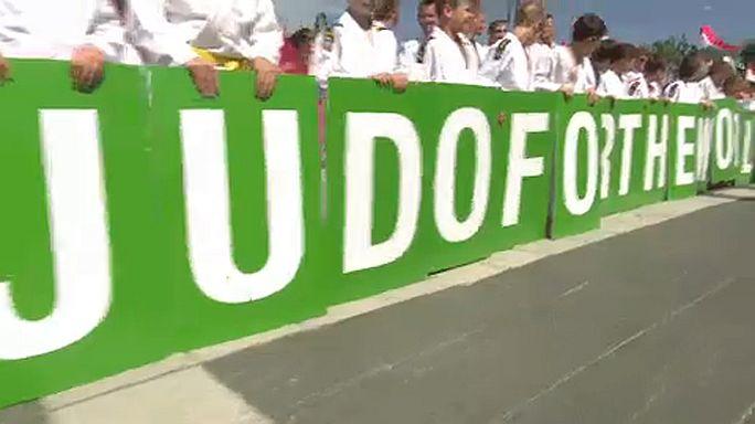 Judo: a Budapest la cerimonia d'apertura dei Mondiali