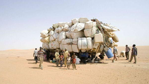 مرگ دهها مهاجر در بیابانهای نیجر بدلیل تشنگی