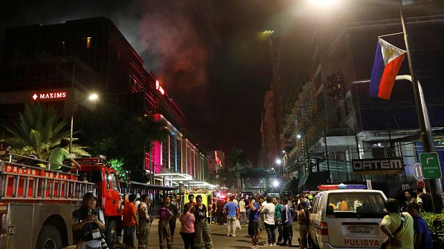 Нападение на курорт в Маниле: десятки погибших