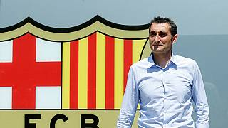 Valverde unveiled as new Barcelona boss