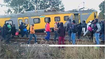 Train crash in Johannesburg kills one, injures 50 others