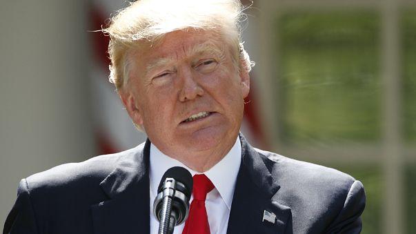 Donald Trump annuncia il ritiro degli Stati Uniti dall'accordo sul clima di Parigi