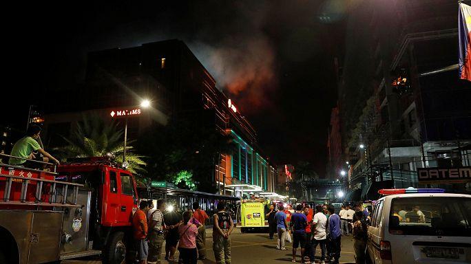 At least 34 dead in Manila casino attack