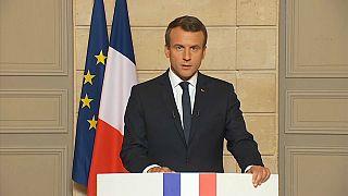 """Macron: """"Estados Unidos ha dado la espalda al mundo"""""""