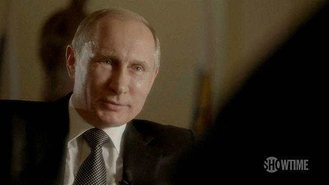 As entrevistas de Oliver Stone a Vladimir Putin