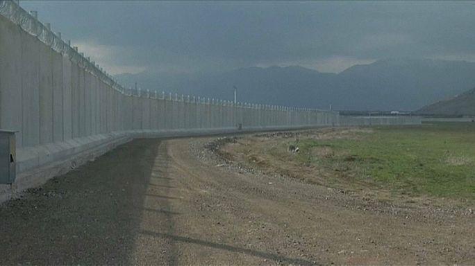 Törökország falat épít