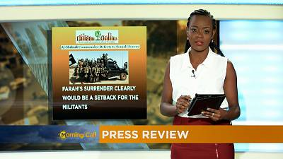 Press Review of June 2, 2017 [The Morning Call]