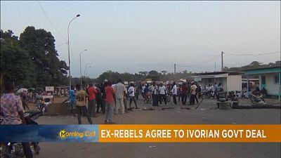 """Côte d'Ivoire : accord entre les soldats """"démobilisés"""" et le pouvoir"""