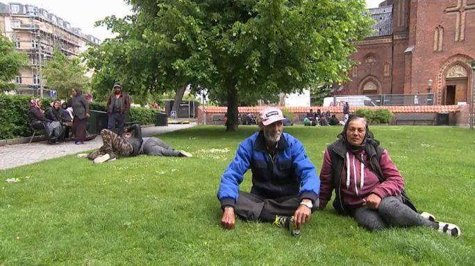 Dinamarca ante el problema de los sin techo