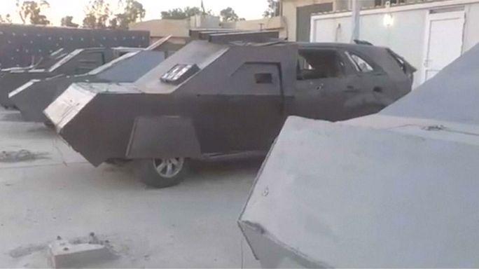 حجز عربات انتحاريي داعش في الموصل