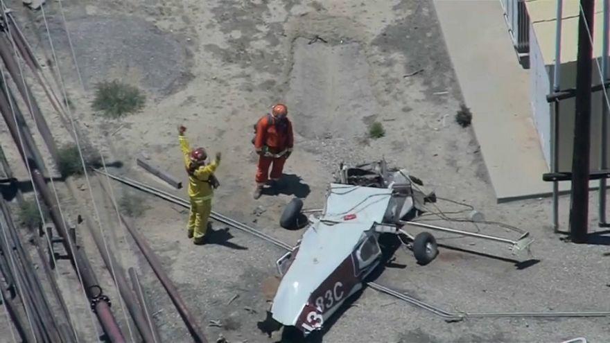 غموض يلف تحطم طائرة صغيرة في كاليفورنيا