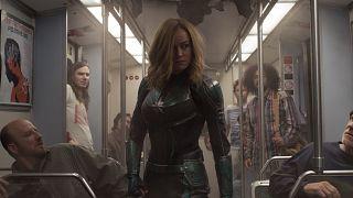 """Image: Brie Larson in Marvel Studios """"Captain Marvel"""""""