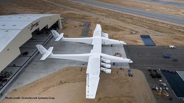 Así es el avión más grande del mundo