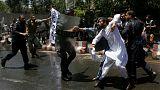 پوشش زنده ناآرامیهای کابل