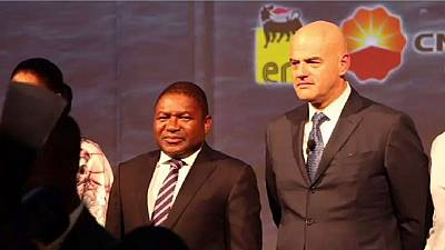 Eni launches multi-billion dollar gas project in Mozambique