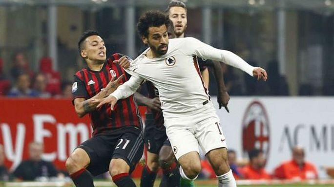 روما يرفض عرض ليفربول لانتقال المصري محمد صلاح