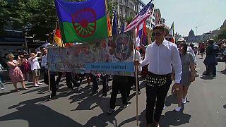 Фестиваль цыганской культуры Khamoro в Праге