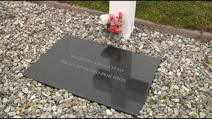 Cruz Vermelha exuma corpos de soldados desaparecidos nas Malvinas
